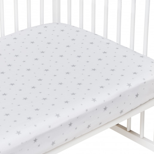 Cotton fitted sheet, STELLA