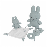 Miffy rabbit flat comforter - almond green knit