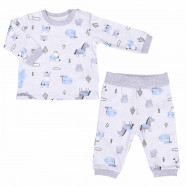 Baby clothes set - 2 piece pajamas - Animals