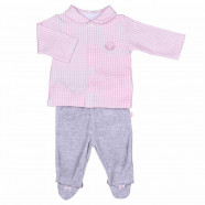 Baby clothes set - 2 piece pajamas - Vichy Karl