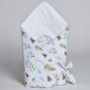 Fleece Swaddle Sleeping Bag - Natura