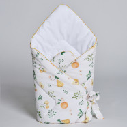 Fleece Swaddle Sleeping Bag - Summer Garden