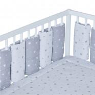 Modular and reversible bed bumper, SAFARI