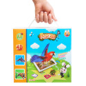 Sevira Kids - Educational game - interactive - set of 68 4D VR flash cards - Fancy Zoo
