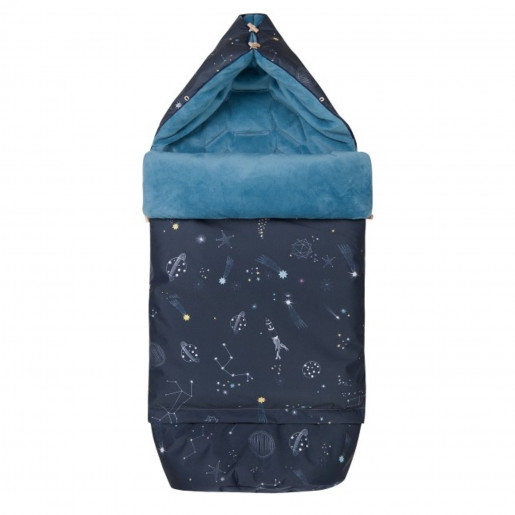 Universal footmuff 0 - 4 years - waterproof - Galaxy