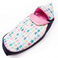 Universal and waterproof footmuff - for stroller or car seat - Stars 2.0
