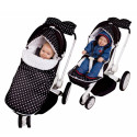 Universal and waterproof footmuff - for stroller or car seat - Windy Mill 2.0
