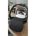 Universal and waterproof footmuff - for stroller or car seat - Twinkle 2.0