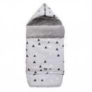 Universal and waterproof XXL footmuff - 0 to 4 years - Tangram