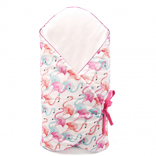 Scalable swaddling sleeping bag - Gold Innovation label - Flamingo