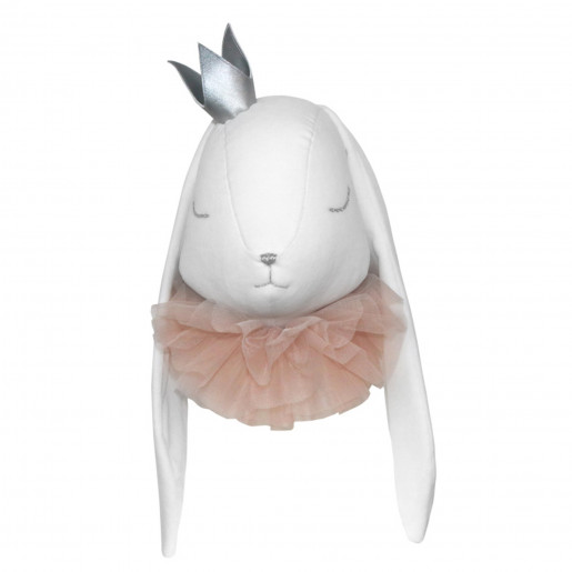 Wall decoration - stuffed animal trophy - Princess Rabbit