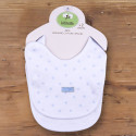 Set of 2 organic cotton newborn bibs - Dreams